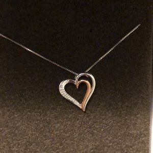 Jared's Diamond Heart Necklace